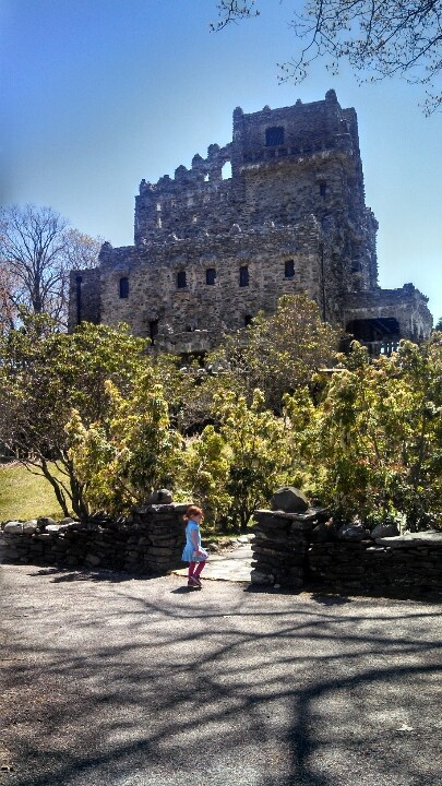Gillette Castle in Connecticut, Yes, Connecticut does have castles. Now a state park, overlooking the Connecticut River, 30 minutes south of Hartford.