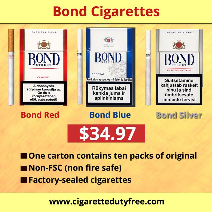 Bond brand is one more masterpiece of the world leading tobacco manufacturer. if you are a smoke lover, http://www.cigarettedutyfree.com is the right place. Bond cigs are very much popular for their rich and tangy taste as well as perfect texture. Buy Bond cigarettes at http://www.cigarettedutyfree.com/english/cigarettes-international/bond.html amd fulfills the Needs of Smoking Desires.