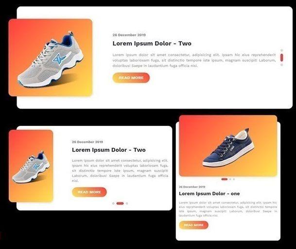 Responsive Product Image Slider Using Bootstrap 4 Carousel Web Development Development Social Media Icons