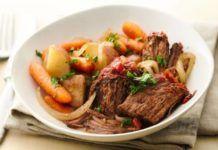 Μοσχάρι με λαχανικά στο φούρνο(3 μονάδες)