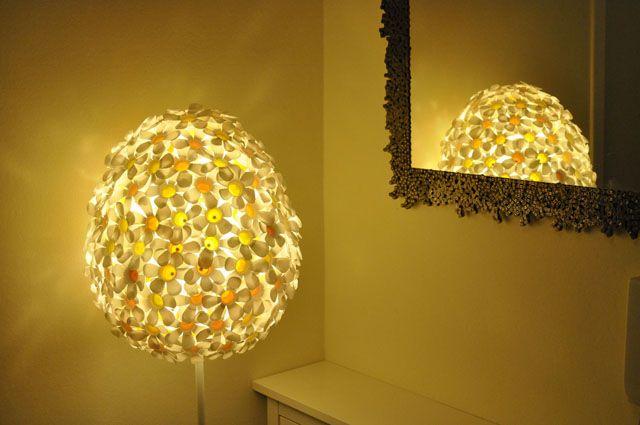 KaMilka - PET bottles lamp