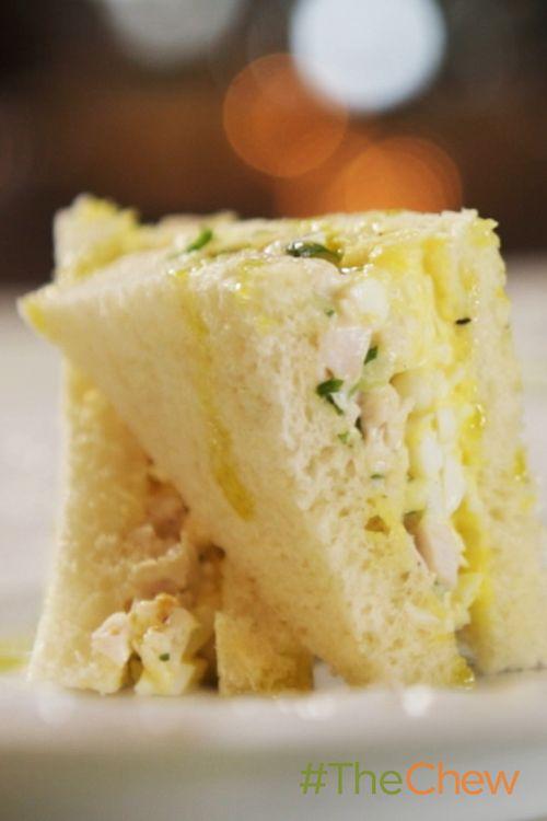 Chicken and Egg Salad Sandwiches (recipe)