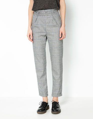 Bershka waist detail trousers Price:£22.99