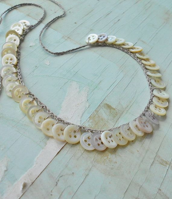 Best JewelryButton Jewelry Images On Pinterest Button - Bright diy layered button necklace