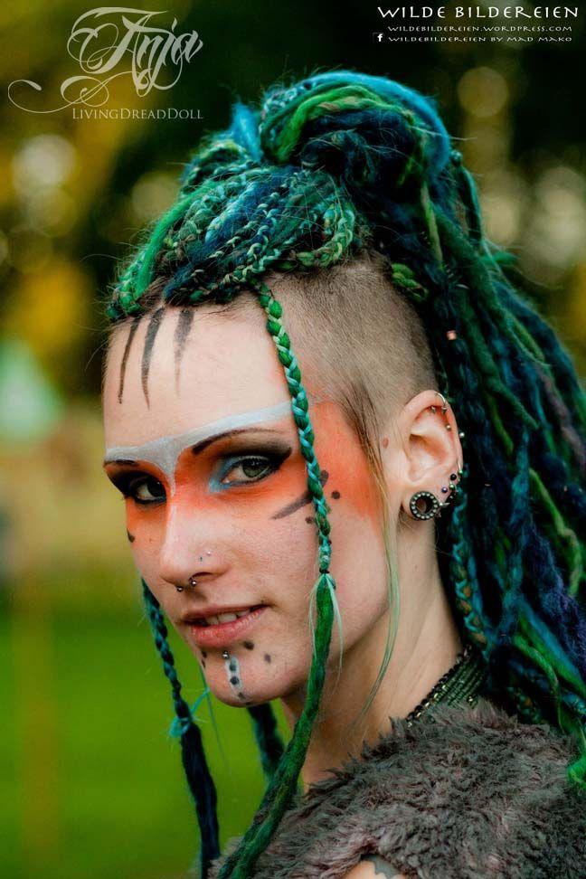 Tribal The Tribe - LivingDreadDoll by wildebildereien - Post Apocalyptic Wasteland War Paint Warrior Mad Max voodoo shaman