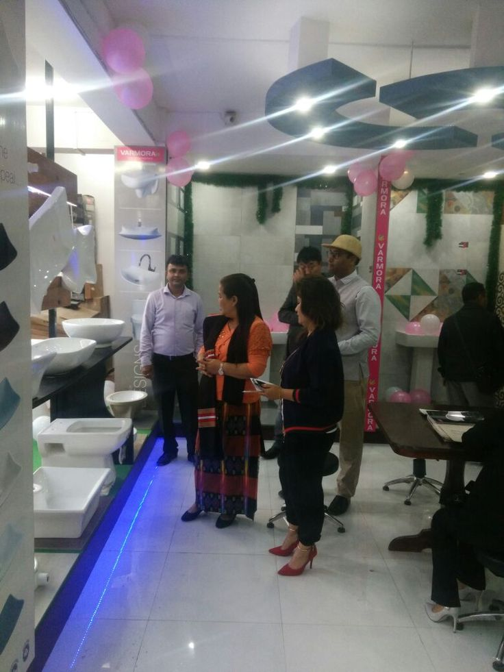 """Varmora proudly announces Grand Inauguration of 92nd showroom """"Varmora Galaxy"""" in the state of Girl Power- Mizoram at Aizawl on 21st November'17, which happens to be the First in North-East India with Ms.Ida Mualchin """"M&JC AND IR"""" and inaugurated by the gentle lady Ms.T. Lalmuanpuii, Director of National Federation of State Cooperative Banks Ltd.and Mr Sandeep Somani, G.M.East Zone, Varmora. Many dignitaries including Architects, Interiors, Engineers, Artists graced the inauguration…"""