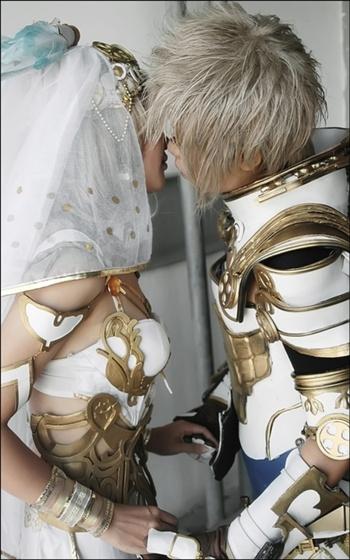 Dalmasca Ashelia B'nargin (Princess) & Nabradia Rasler Heios (Prince)   Final Fantasy XII #cosplay #game #anime