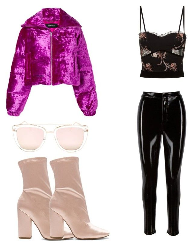 """Untitled #140"" by dariatamasan on Polyvore featuring MISBHV, Quay, Kendall + Kylie and La Perla"