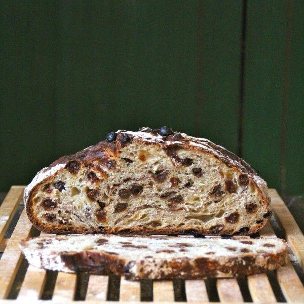 Eltefritt kanel-rosin-brød