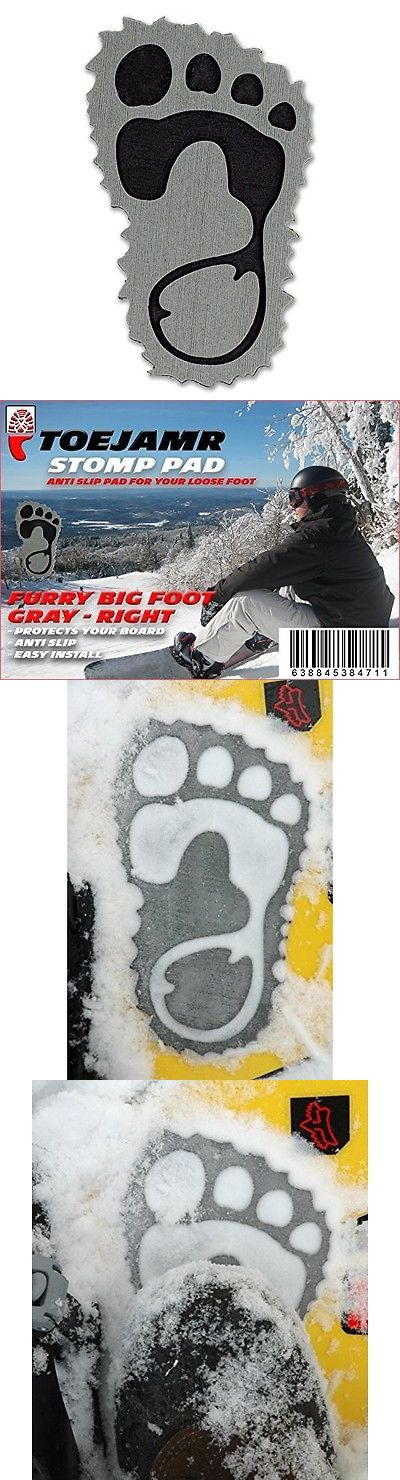 Stomp Pads 159184: Snowboard Pad Furry Yettie Right Gray -> BUY IT NOW ONLY: $31.14 on eBay!