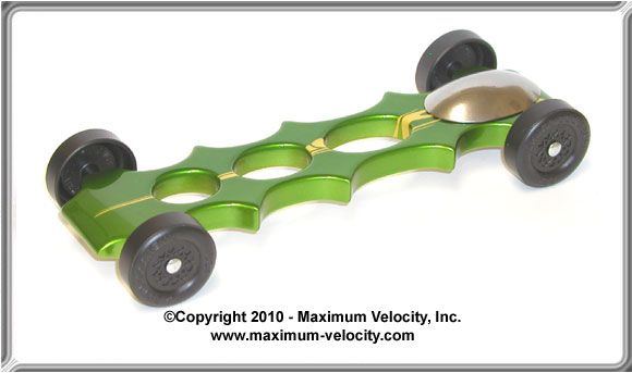 Vaccinator Pinewood Derby Car Kit - Completed
