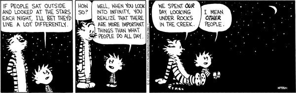 haha!: People Sat, July 03, Profound Quotes, Calvin Hobbes, Bill Watterson, Calvinandhobb, Bet They D, Calvin And Hobbes, Comic Strips