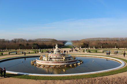 Der Garten von Schloss Versailles, Paris!