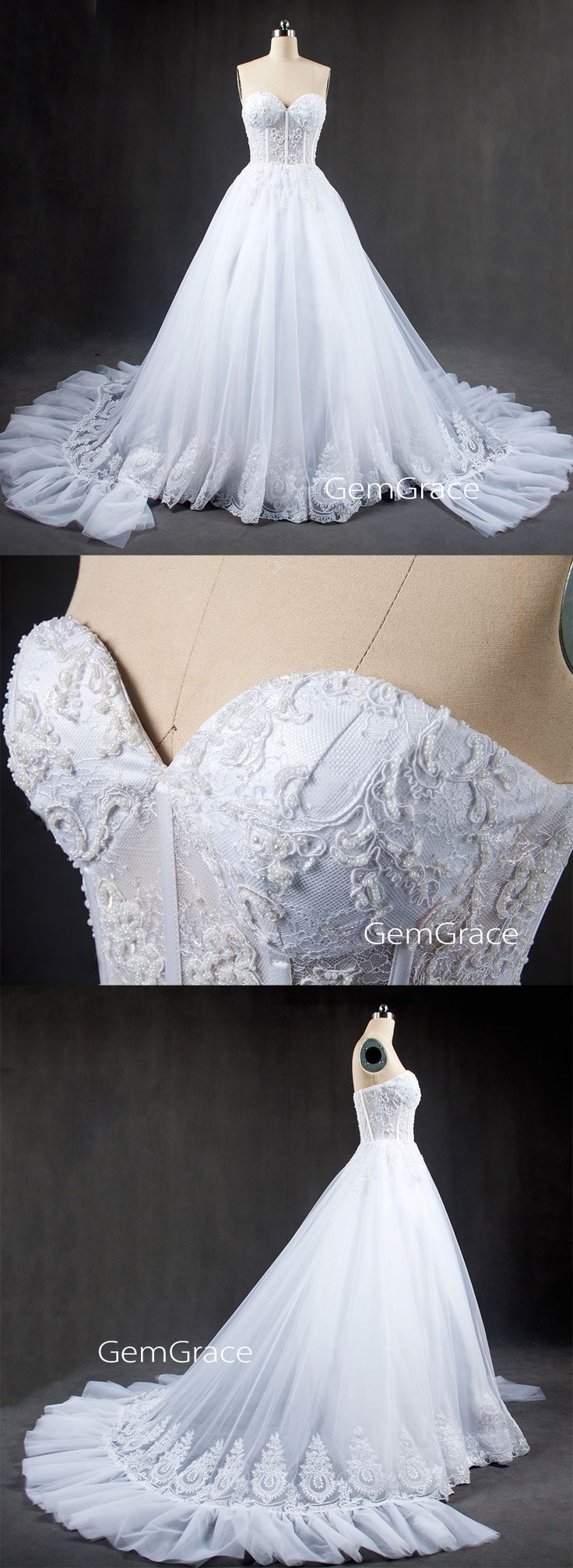 If you want luxury, then our GEM collection is the best choice. #customweddingdress
