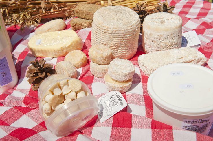 Les fameux fromages d'Orcimont de Monistrol-sur-Loire ! crédits Luc Olivier #marchesduvelay #auvergne