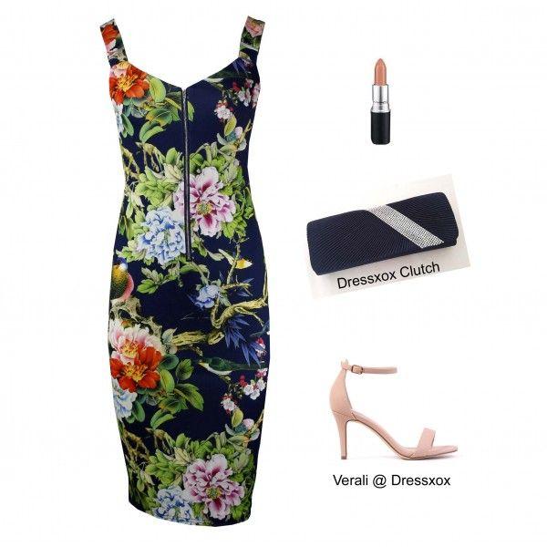 Iazz Vibrant Paradise Dress