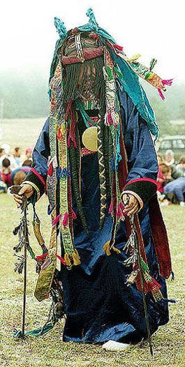 Buryat shaman *The Buryats, numbering approximately 500,000, are the largest indigenous (aboriginal) group in Siberia, mainly concentrated in their homeland, the Buryat Republic, a federal subject of Russia. They are the major northern subgroup of the Mongols.