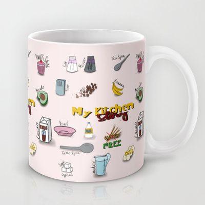 My kitchen story Mug by ywanka - $15.00