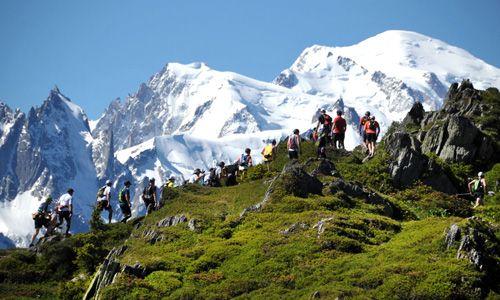 Trail : Marathon du Mont-Blanc, 42 km, dénivelé positif 2 511 m
