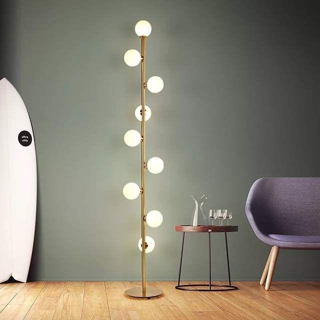 Online Shop Modern Led Living Room Standing Luminaires Nordic Lights Be Lampade Da Terra Vintage Illuminazione Camera Da Letto Lampade Da Terra Camera Da Letto