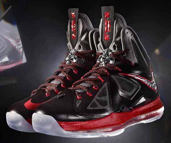 lebron 10 lifestyle mens black and white nike basketball shoes