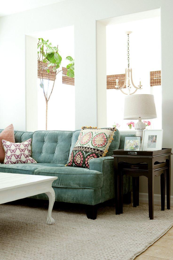 Best 25 Light Blue Sofa Ideas On Pinterest Ikea Sofa Set Living Room Floral Art And Ikea