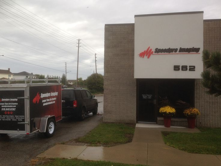 Speedpro Imaging London Ontario has moved!  Come check out their new location at 562 Newbold Street and say 'hello'!