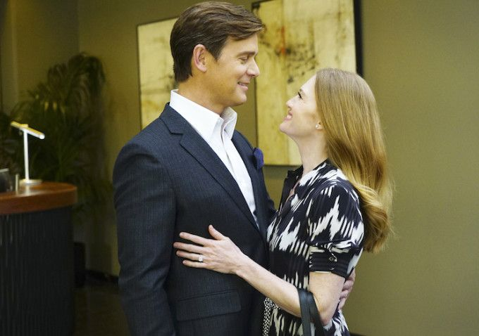 """""""The Catch"""" Peter Krause & Mireille Enos"""