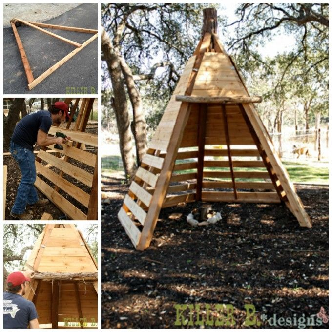 Fun Finds Friday! | Backyard, Backyard playground, Diy teepee
