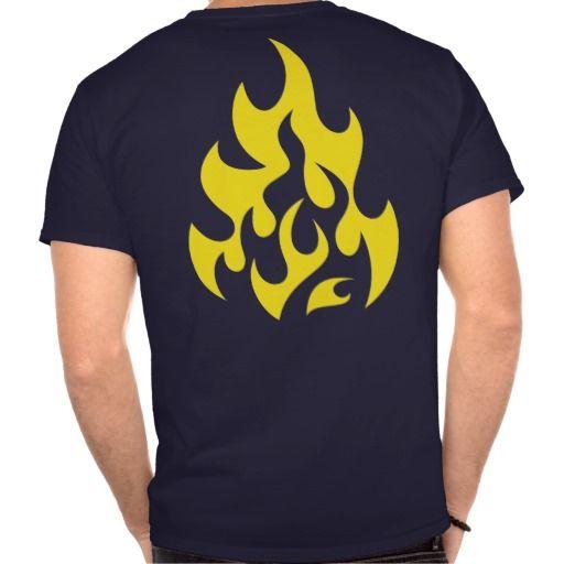 Tribal Flame T-shirts