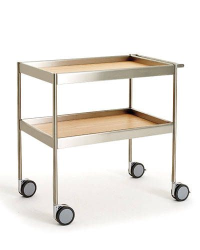 THE TOP 10 BAR CARTS: Wheeled Hostess Trolley by Antonio Citterio for Arclinea.