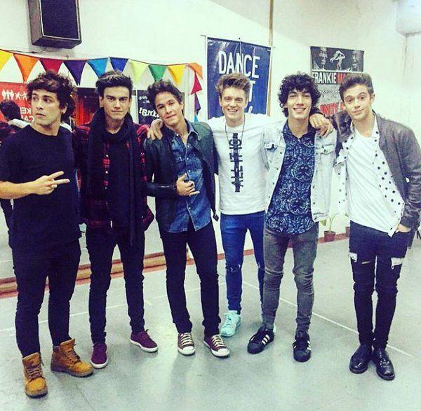 Los chicos de Soy Luna