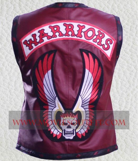 The Warriors Movie James Remar Celebrity Biker Leather Vest in cheap price.  #warriorsvest #movievest #bikervest #bikerclothing #menswear #celebritystyle #fashion