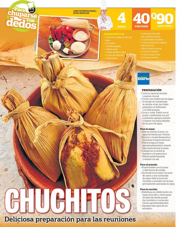 En la mesa de los guatemaltecos nunca faltan los chuchitos para festejar acontecimientos especiales, fechas importantes, o simplemente para darse un gusto a cualquier hora del día.