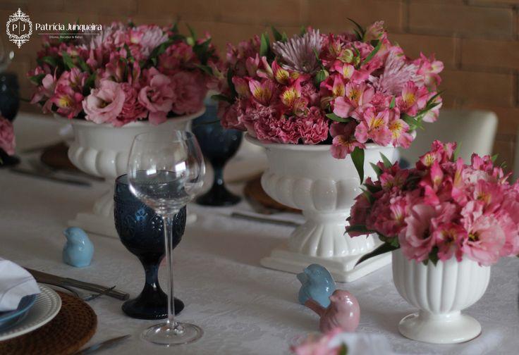 Decoração de mesa Por Patricia Junqueira wwwpatriciajunqueiracom