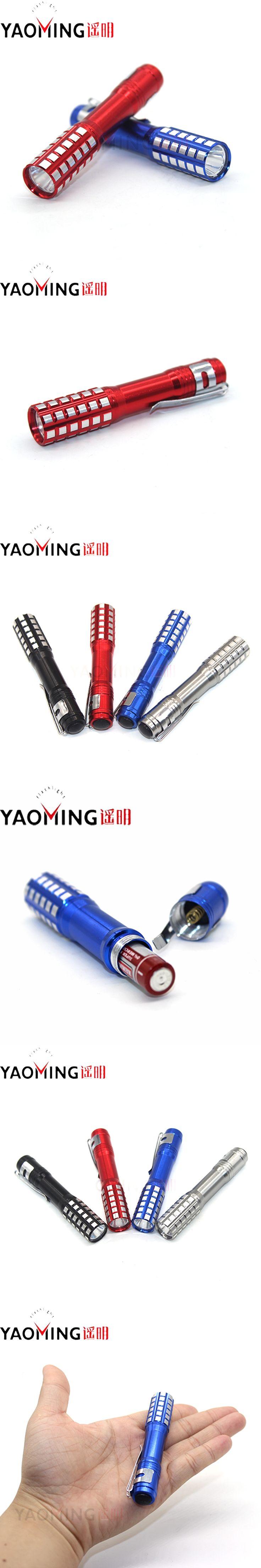 Mini Led Flashlight Torch Waterproof Lamp Light Camping Protable Linternas High Power Penlight Tactical Flashlight by AAA