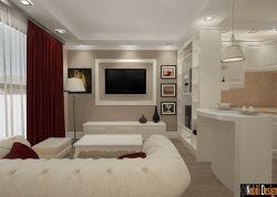 Realizare proiect design interior apartament stil clasic