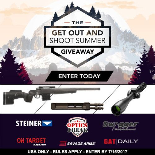 Win a $3900 Savage Arms .308 Rifle Package including bipod and... IFTTT reddit giveaways freebies contests
