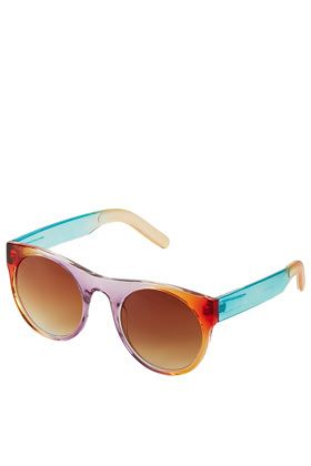 drop lense round sunglasses.