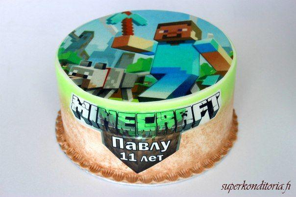 Minecraft торт круглый: 8 тыс изображений найдено в Яндекс.Картинках