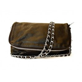 $129.95 Savannah Black Leather Clutch free shipping within Australia at sterlingandhyde.com.au