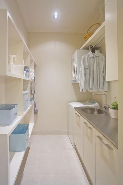 Good laundry layout