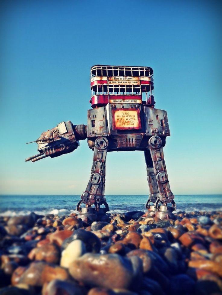 Robot Geisha: Surreal Sculptures by Sean Madden