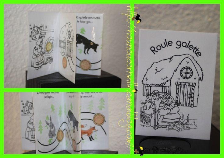 Mini-livre roule galette à télécharger free