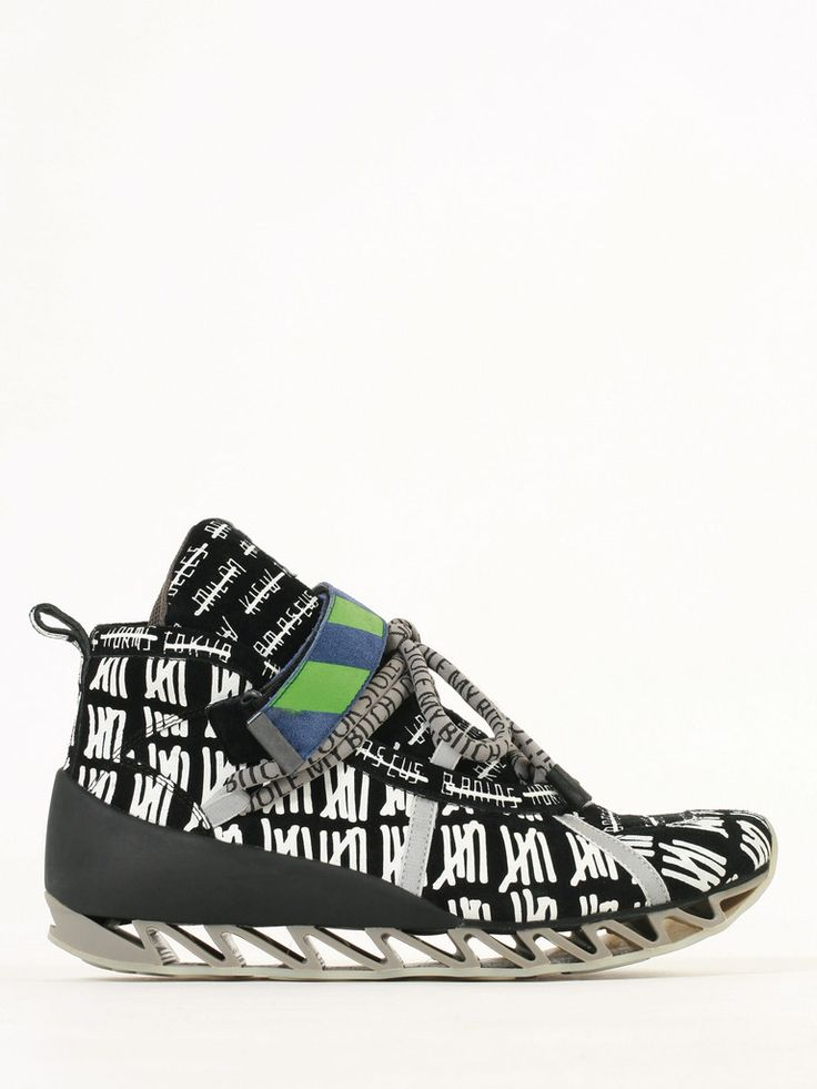 Bernhard Willhelm in collaboration with Camper: Himalayan Lashes men sneakers - man FW14/15 collection guyafirenze.com