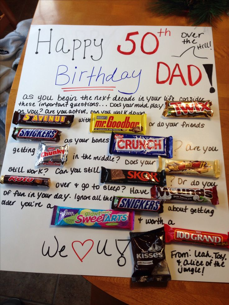50th birthday present for my uncle! | Gift ideas | Pinterest