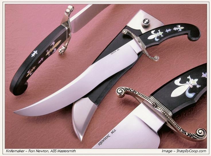 Fixed Blade Knives - Ron Newton - A.B.S. Mastersmith