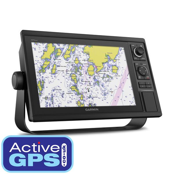 Garmin GPSMAP 1222 Is A Chartplotter And Fishfinder With 12 Inch Colour Windscreen Display