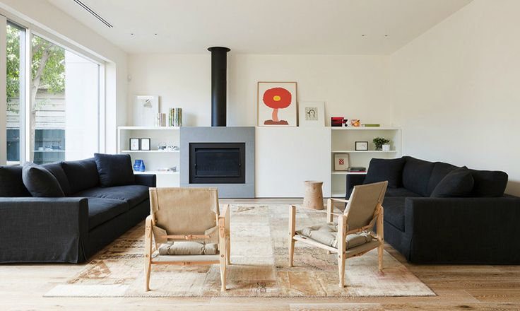 Fireplace and cabinetry