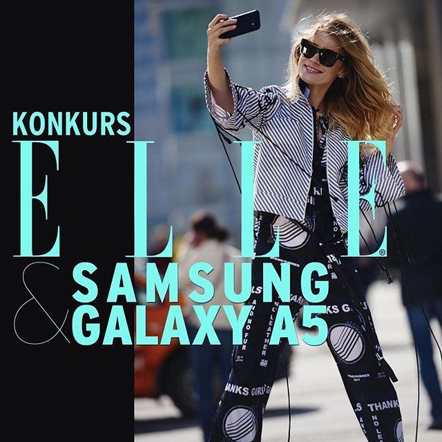 Trwa konkurs ELLE & Samsung Galaxy A5 2017! Zrób zdjęcie swojej stylizacji i udostępnij je na Instagramie koniecznie używając #ELLEandGalaxy #GalaxyA #wyznaczakierunek i wybranego koloru: #BlueMist #BlackSky #GoldSand #PeachCloud. Wygraj najnowszy smartfon Samsung Galaxy A5 2017. Na twoje zgłoszenia czekamy do 26.05! Regulamin konkursu i szczegóły znajdziesz na elle.pl  via ELLE POLAND MAGAZINE OFFICIAL INSTAGRAM - Fashion Campaigns  Haute Couture  Advertising  Editorial Photography…
